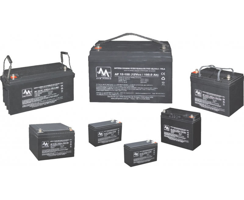 Baterias VRLA - 7 à 200Ah